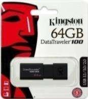 PENDRIVE KINGSTON DT100/G3 64 GB USB 3,0 ALTA VELOCIDAD