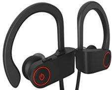 AURICULARES NOGA NG-BT300 BLUETOOTH SPORT FIT NEGRO CABLE PLANO REMOTO