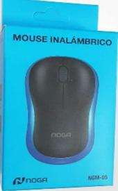 MOUSE NOGA NGM-05 AZUL INALAMBRICO USB 2,4 GHZ PC NOTEBOOKS Y TABLETS